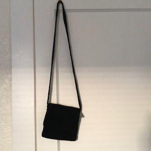 The Sak crocheted black purse